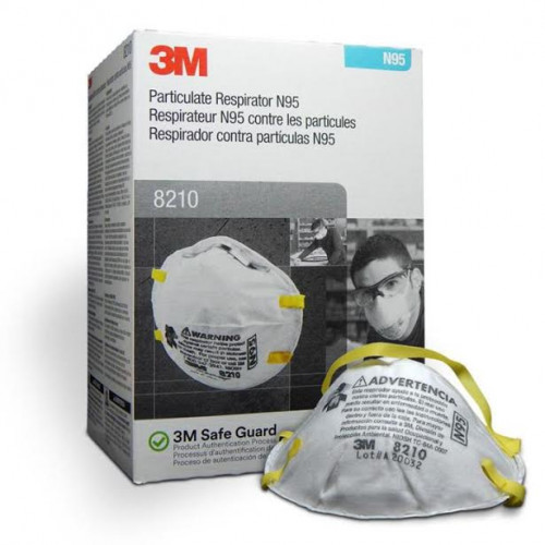 3M 8210 N95 Particulate Respirator