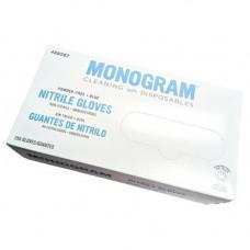 Monogram Nitrile Industrial  Gloves