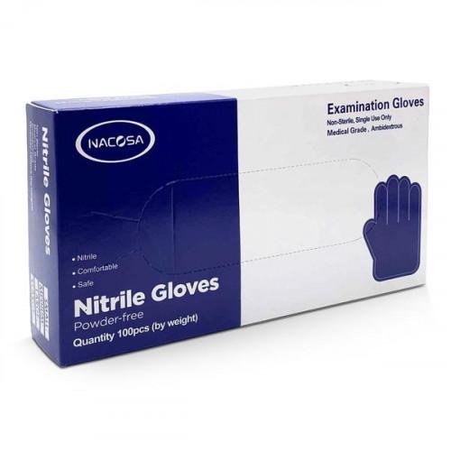 Nacosa Powder-free Nitrile Medical Grade Gloves