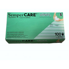 SemperCARE Vinyl Synthetic Exam Gloves
