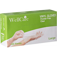 Wellcare Vinyl Industrial Gloves