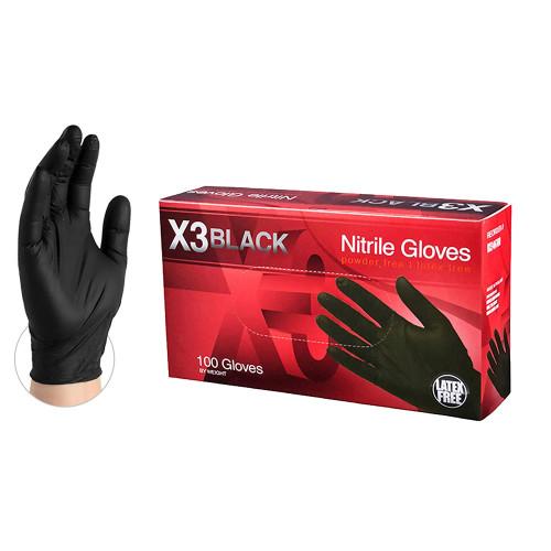 X3 Industrial Nitrile  Gloves
