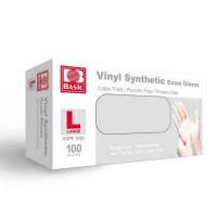 Basic Vinyl Synthetic Exam Gloves by Intco